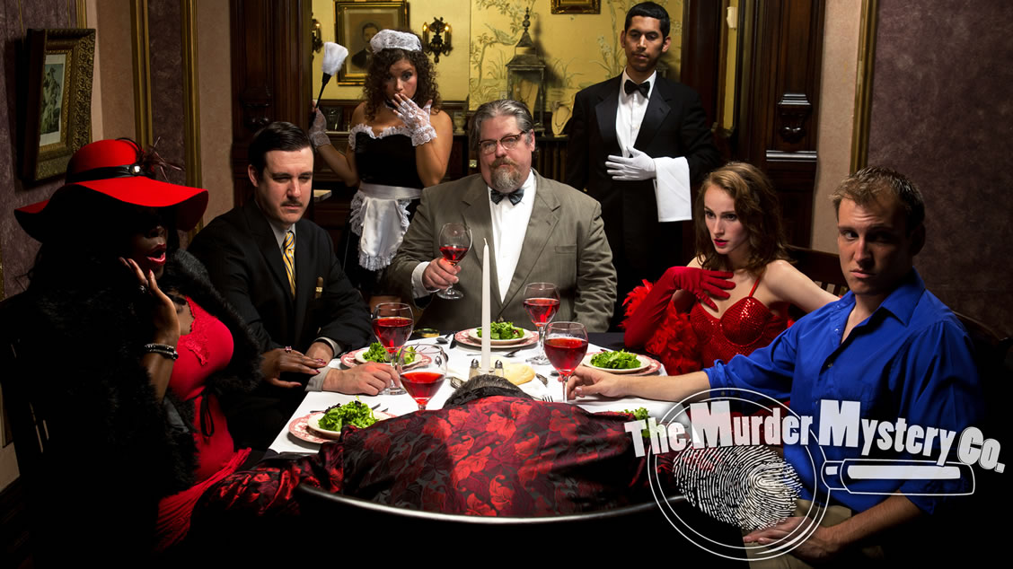 Atlanta murder mystery party themes